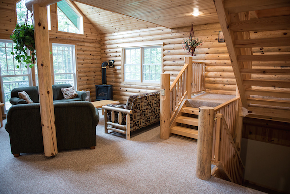 Minnesota Lake Cabin Mackinaw 3 Bedroom Log Cabin