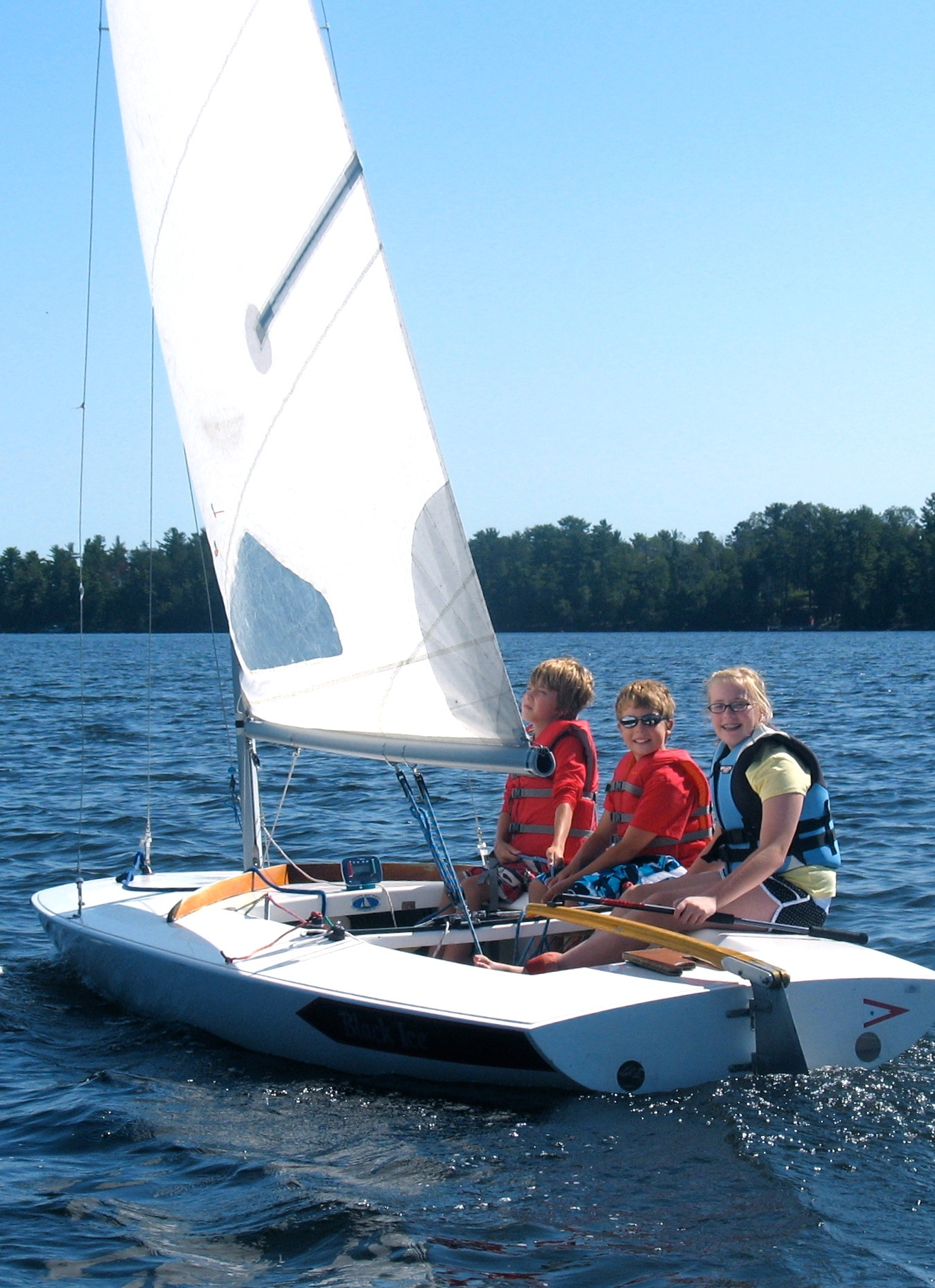minnesota sailing learn to sail at pehrson lodge