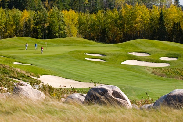 The Wilderness at Fortune Bay Lake Vermilion golf course