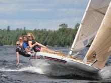 Sailing Vermilion