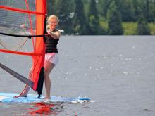 Sailboard Windsurfing at Pehrson Lodge