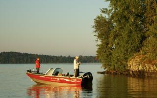 Lund Fisherman on Vermilion