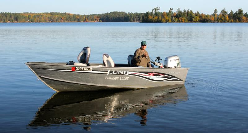 Lake vermilion boat motor rentals for Minnesota fishing charters
