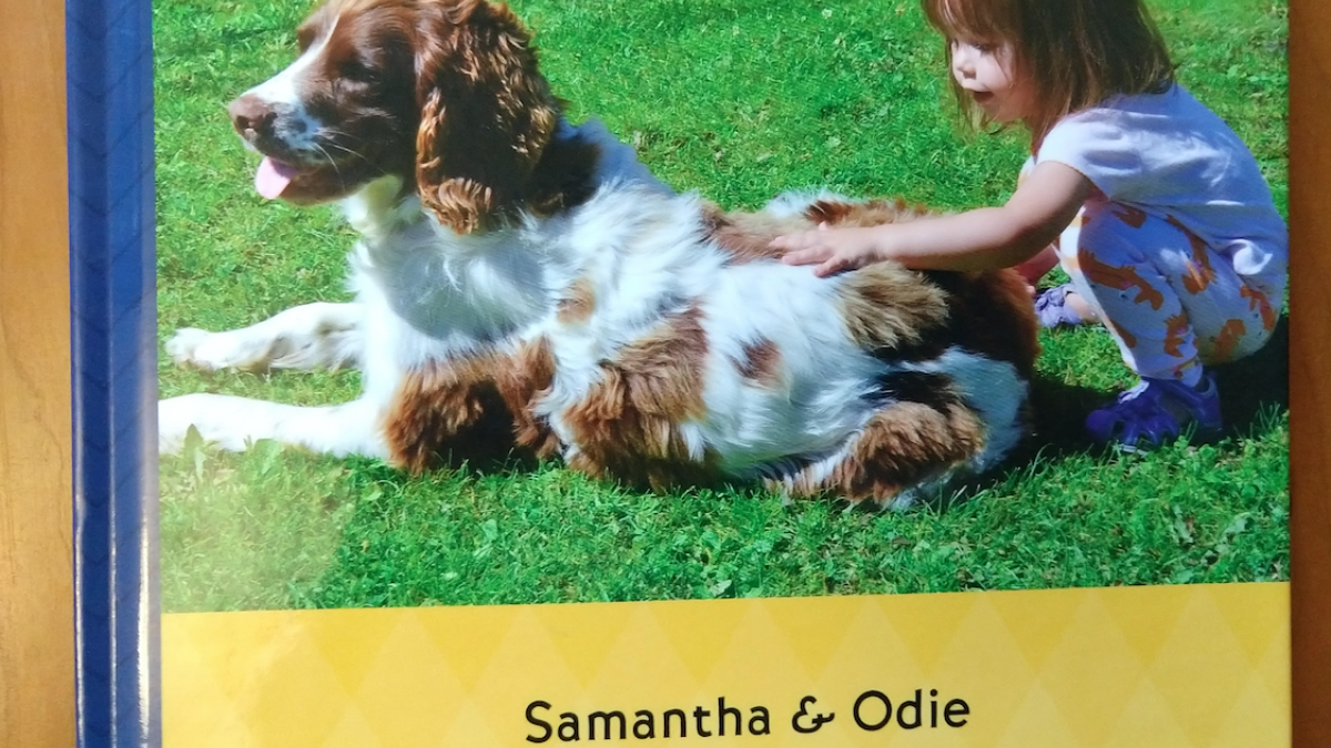 Cover of Samantha's Odie book