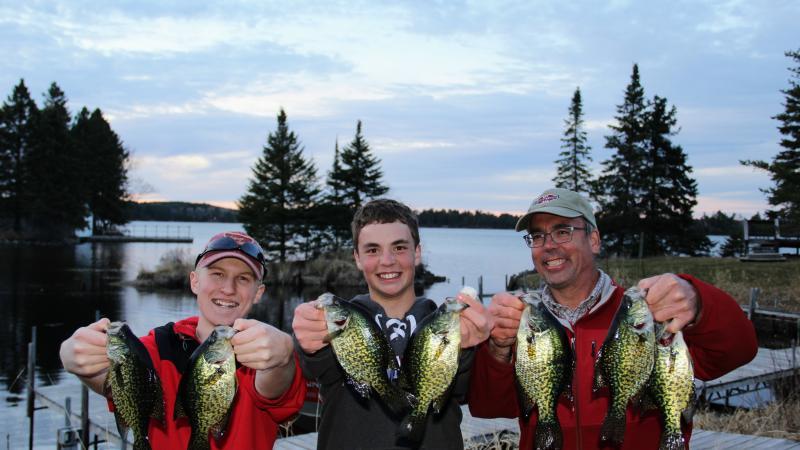 Crappie Fishing | Pehrson Lodge Resort on Lake Vermilion
