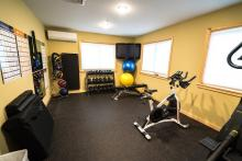 Fitness Rom in the Lodge at Pehrson Lodge Resort
