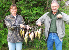 Crappie Fishing on Lake Vermlion